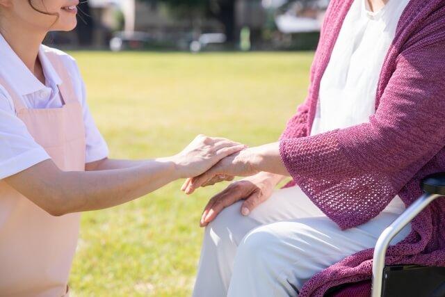 介護する人と介護される人のイメージ